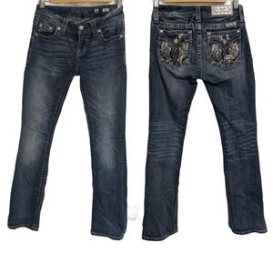 """Miss Me 26 MidRise Bootcut Jeans 31"""" Inseam"""